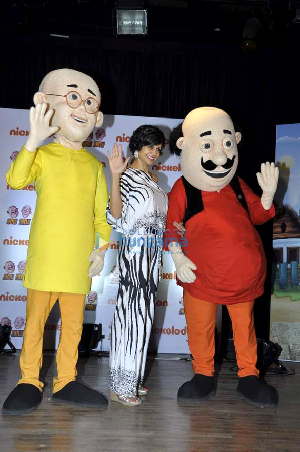 Mandira launches Nickelodeon's 'Motu Patlu' trailer
