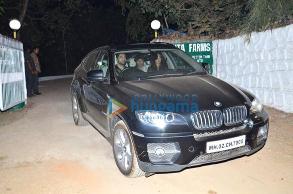 Salman Khan's birthday bash at Panvel