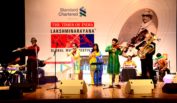 Hubert Laws, Dr L Subramaniam, Kavita Krishnamurthy , Ambi, Oystein Baadsvik