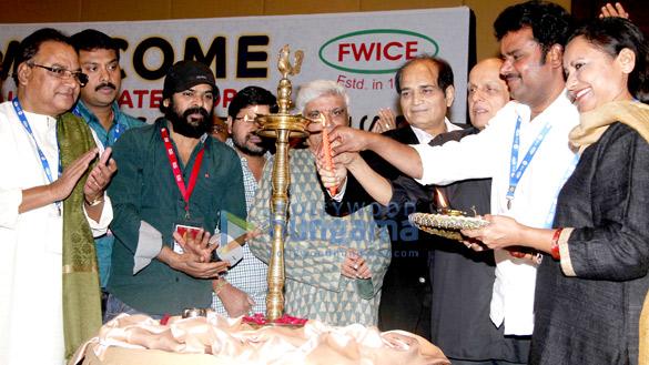 Javed Akhtar & Mahesh Bhatt inaugurate All India Film Employees Confederation