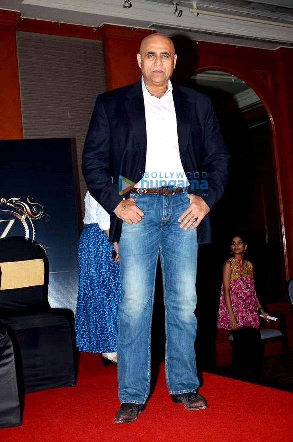 Sara Loren & Taaha Shah at the launch of the film 'Barkha'