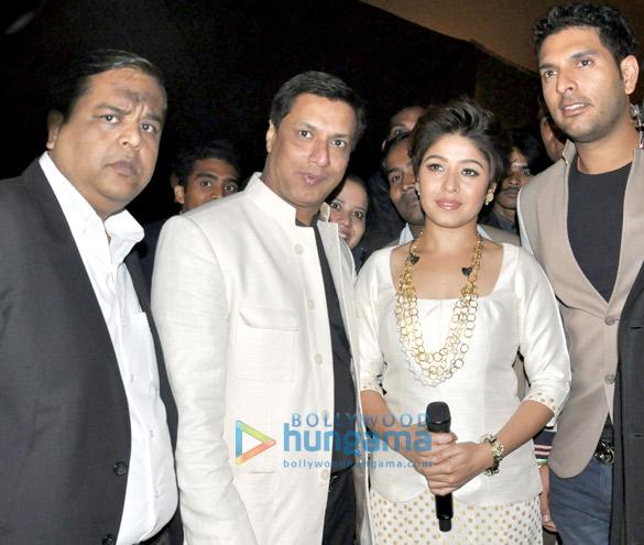 Neeraj Gupta, Madhur Bhandarkar, Sunidhi Chauhan, Yuvraj Singh