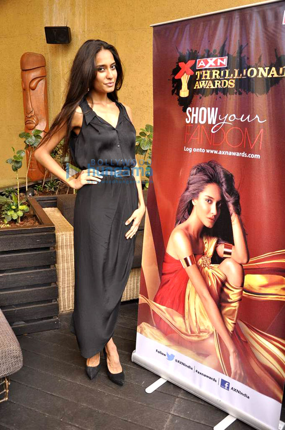 Lisa Haydon does a photo shoot for AXN's new show
