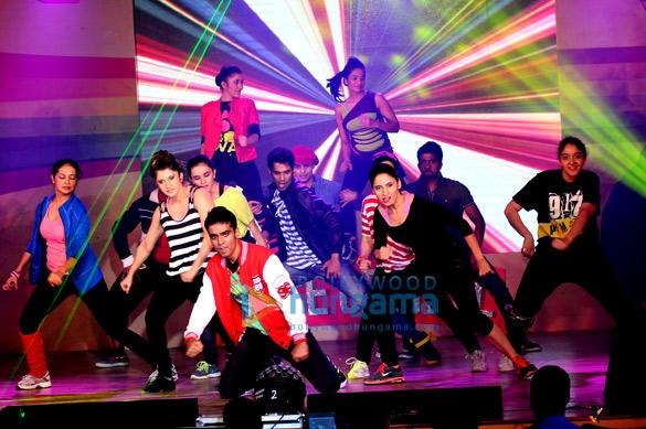 Udita graces the performances by Smilie Suri & Amit Dholawat at Dance Central