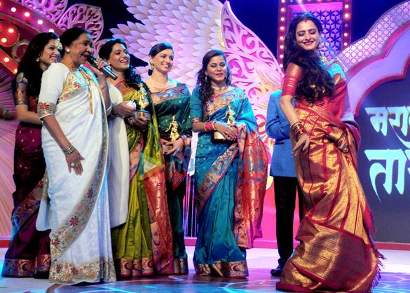 Asha Bhosle, Urmila Kanitkar, Shruti Marathe, Hemangi Kavi, Rekha