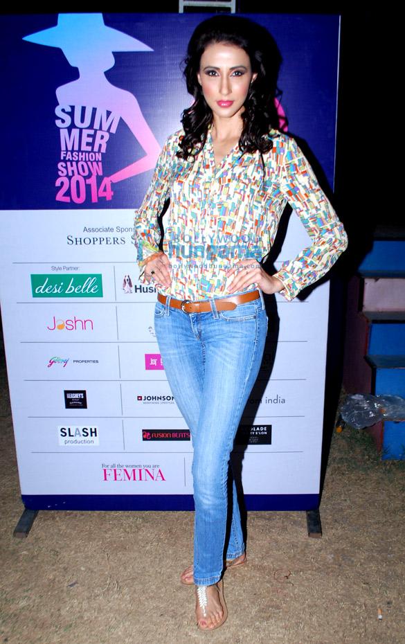 Divya Khosla Kumar graces 'Femina Festive Showcase May 2014'
