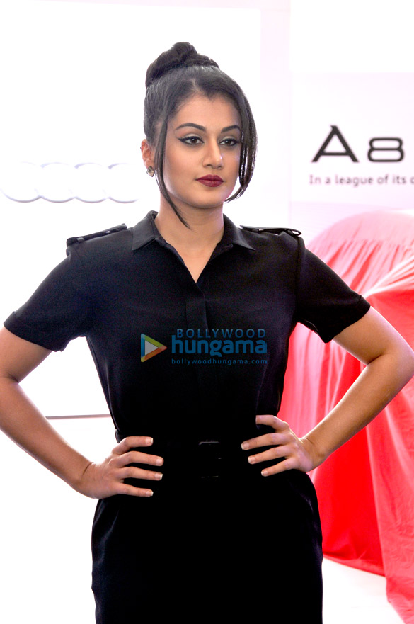 Tapsee Pannu unveils the latest version of Audi A8L