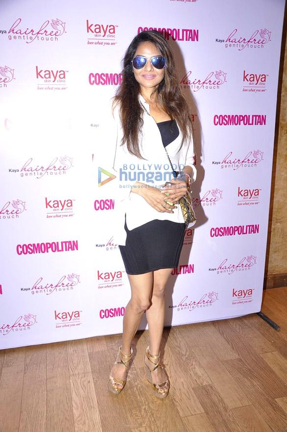 Anushka Manchanda, Ira Dubey, Nauheed at Cosmopolitan-Kaya Skin Clinic event