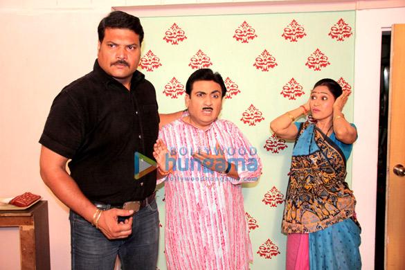 Dayanand Shetty, Dilip Joshi, Disha Vakani