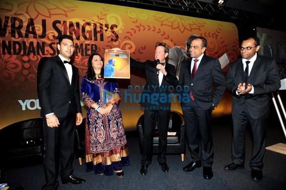 Yuvraj Singh, Shabnam Singh, Arun Rangachari, Vivek Rangachari