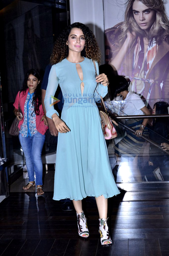 Kangna Ranaut at the launch of Grazia magazine's latest issue