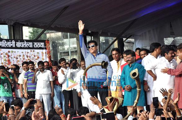 Bipasha, Anil Kapoor & Govinda at Ram Kadam's Dahi Handi celebration