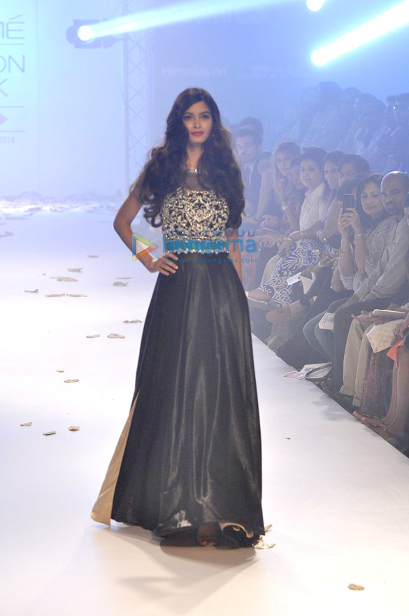 Diana Penty walks for Rocky S at LFW 2014 – Day 4