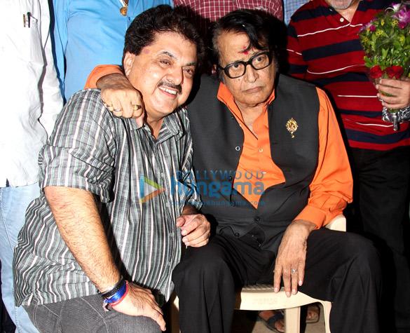 Ashok Pandit & Manoj Kumar at IFTDA Bhoomipoojan ceremony