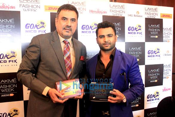 Sachiin Joshi & Boman Irani promote Goa Nicofix – anti tobacco chewing gum