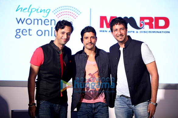 Farhan Akhtar, Salim-Sulaiman launch MARD's social campaign #ReachForTheSky