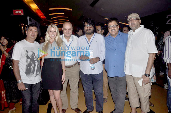 Anupam Kher, Vivek Agnihotri, Ashoke Pandit, Viveck Vaswani