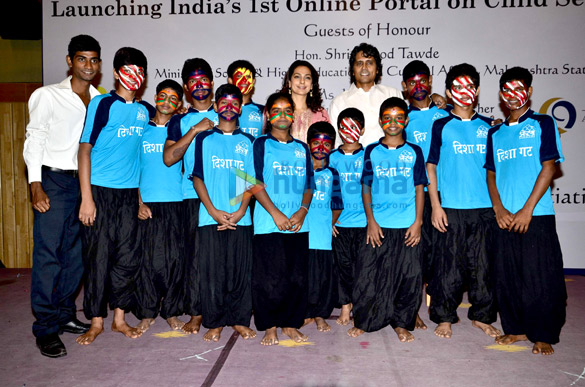 Juhi Chawla & Nagesh Kukunoor launch portal against Child Sexual Abuse