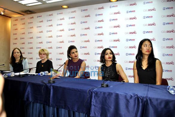 Holly Gordon, Priyanka Chopra, Freida Pinto