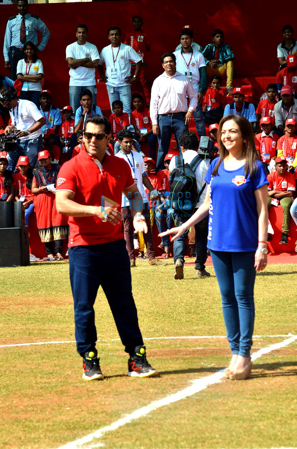 Salman Khan at Reliance Foundation's Young Champs launch
