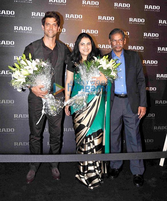 Hrithik Roshan unveils Rado's Brown high-tech ceramic collection