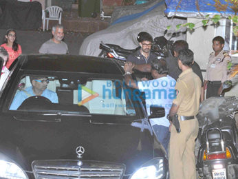 Aamir Khan snapped with mother in Bandra