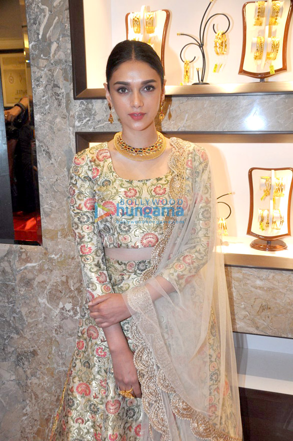 Aditi Rao Hydari at \'P. C. Chandra Jewellers\' store launch ...