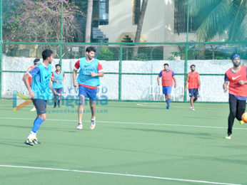 Aditya Roy Kapur snapped at football practise