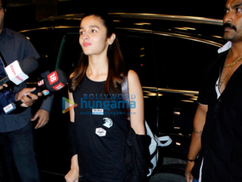 Alia Bhatt leaves for London on holiday