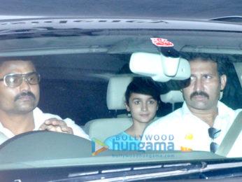 Alia Bhatt snapped after a meeting at Karan Johar's office