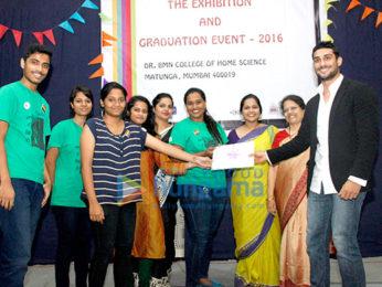 Prateik Babbar felicitates students at PUKAR's Youth Fellowship graduation event