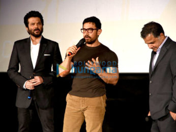 Aamir Khan, Anil Kapoor, Sonam Kapoor at the press conference of TV serial 24 season 2
