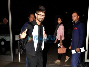 Shahid Kapoor, Neil Nitin Mukesh & Gulshan Grover depart for IIFA 2016