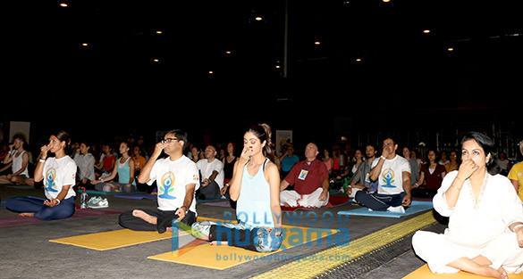 Shilpa Shetty conducts IIFA Stomp Yoga Masterclass in Madrid
