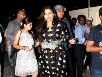 Vidya Balan, Rimi Sen & others grace at the special screening of 'TE3N'