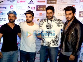 Ajinkya Rahane, Virat Kohli, Abhishek Bachchan, Arjun Kapoor