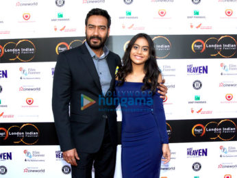 Ajay Devgn, Nysa Devgn & Linaa Yadav grace the premiere of 'Parched' at London Indian Film Festival