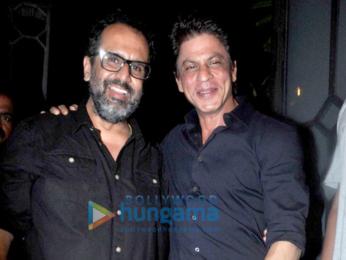 Shah Rukh Khan, Sidharth Malhotra, Kangna Ranaut & others at Anand L. Rai's birthday bash