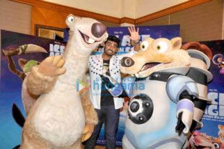 Arjun Kapoor promotes 'Ice Age: Collision Course'