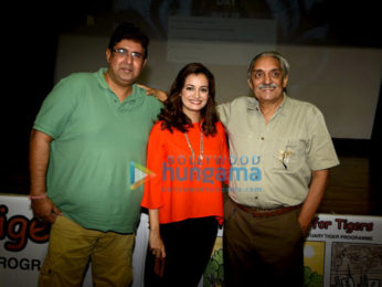Dia Mirza unveils her directorial debut video for save tiger campaign on Global Tiger Day