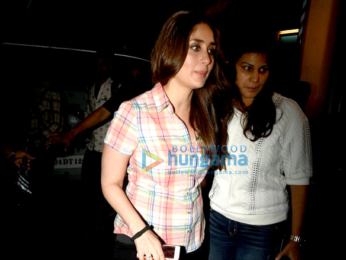 Kareena Kapoor Khan snapped post an ad shoot in Mehboob Studio