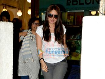 Kareena Kapoor Khan snapped in her new look and baby bump