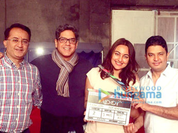 On The Sets Of The Movie Noor