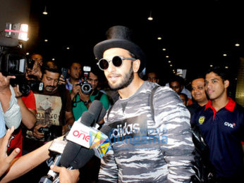 Ranveer Singh arrives back from Paris 'Befikre' schedule