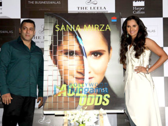 Salman Khan launches Sania Mirza's book 'Ace Against Odds'