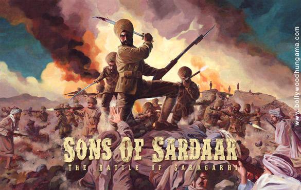 First Look Of The Movie Sons Of Sardaar: Battle Of Saragarhi
