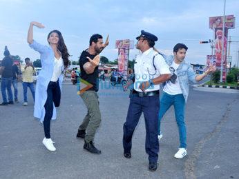 Team 'Dishoom' meets the moonwalking cop in Indore