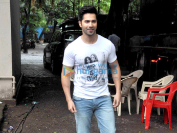 Varun Dhawan snapped at 'Dishoom' promotions