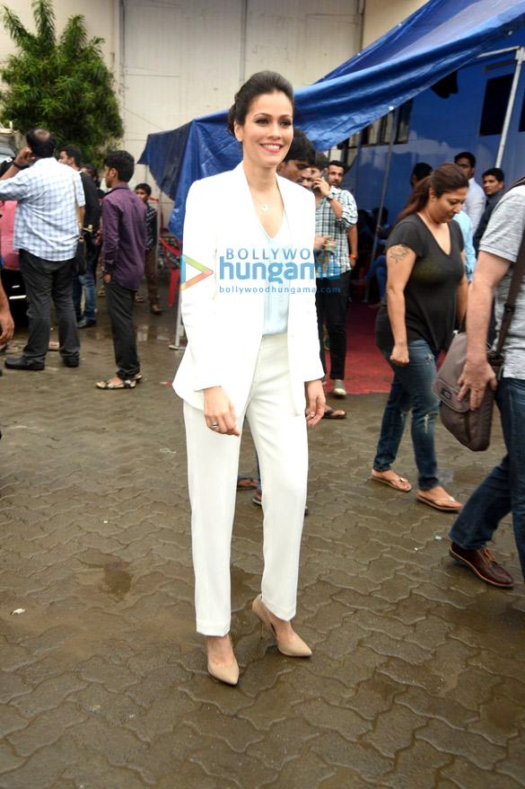 Waluscha De Sousa snapped at Mehboob Studio