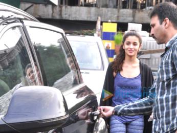 Alia Bhatt & Aditya Roy Kapur snapped at Dream Team convert's rehearsals